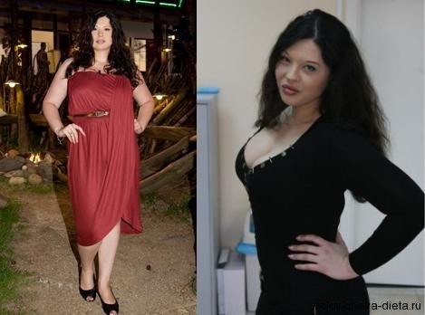 Как участница дома 2 похудела